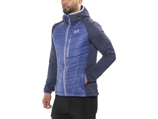 huge selection of 41691 8e41b Jack Wolfskin Skyland Crossing Fleece Jacket Herren royal blue